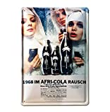 Blechschild Retro Afri Cola - Blechschild Vintage Afri Cola - Nonnen