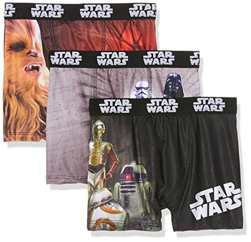 Star Wars packx3, Boxer Bambino, Mehrfarbig (Multicolor A1), 12 anni (pacco da 3 )