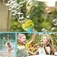Winkey The Best Toy Gift, Summer Funny Magic Bubble Blower Machine Bubble Maker Mini Fan Kids Outdoor Toys