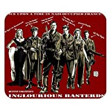 Tapis de Souris Inlgorious Basterds Tarantino Brad Pitt Guerre Film