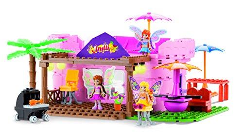 Winx Club - Tutti Frutti Music Bar Playset Costruzioni 400 Pezzi Mattoncini - Giochi Preziosi