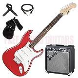 FENDER Squier Bullet Stratocaster HT + AMPLIFICATORE + TRACOLLA + CAVO + BORSA