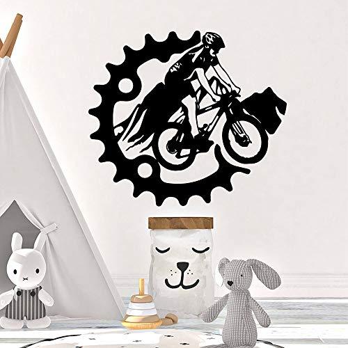 SLQUIET Motocicleta personalizable pegatinas de pared amantes de los animales decoraciones para...