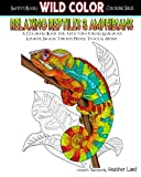 Relaxing Reptiles & Amphibians: Adult Coloring Book: Volume 1 (Wild Color)