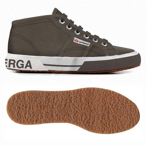 Superga Donna 2754-Pluslnylu Sneakers stringate Grigio (grigio)