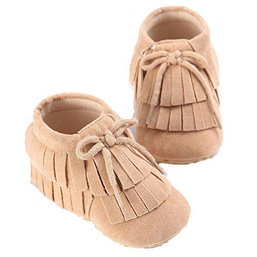 Etrack-Online , Baby Mädchen Lauflernschuhe W 12-18 Month khaki