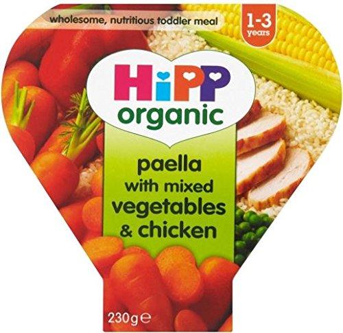 Hipp Bio Paella Mit Mischgemüse Und Hähnchen 1-3Yrs (230G)