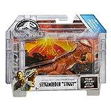 Jurassic World FVJ90 Attack Pack Stygimoloch Stiggy, Multi-Colour