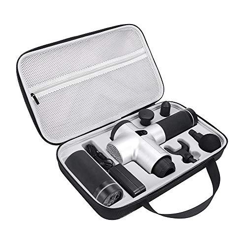Carplink Protective Travel Case für Hyperice Hypervolt Tragbares Massagegerät Fascia Muscle Relaxer Massager Aufbewahrungsbox Anti-Scratch Anti Shock -