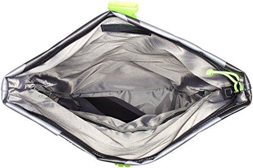Bree - Punch 93, Backpack S17, Zaino Unisex - Adulto Mehrfarbig (black/grey)