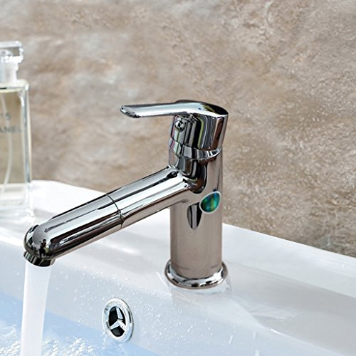Tous Copper Basin simple eau du robinet Lavabo Peut être Rotating Faucet Taipen Hot And Cold Faucet Placage