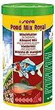 sera 07100 pond mix royal 1000 ml - Futtermischung aus Flocken, Sticks und mit 7 % Gammarus als Leckerbissen für alle Teichfische