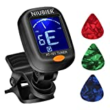 NIUBIER Guitar Tuner Clip-on