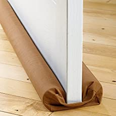 Siddhi Collection Under Door Twin Draft Guard Cover Stop Light Dust Cool Air Escape Protector