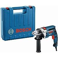 Bosch Professional GSB 16 RE Schlagbohrmaschine + Schnellspannbohrfutter 13 mm + Tiefenanschlag 210 mm + Zusatzhandgriff…