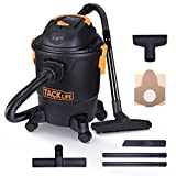 Wet and Dry Vacuum Cleaner, Tacklife PVC01A Wet Dry Vac 18.9L Capacity and 1000W Compact with Safe Buoy Technology, 4 Percolation in Wet/Dry Dirt and Blowing, Lightweight and portable