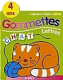 Gommettes Lettres Chat 4 ans