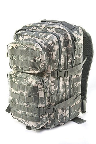 Mil-Tec Military Army Patrol Molle Assault Pack Tactical Combat Rucksack Backpack Bag 36L ACU Digital Camo by Miltec