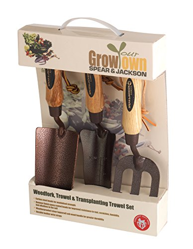 Spear & Jackson ELEMENTS3PS Elements Grow Your Own 3-teiliges Geschenkset