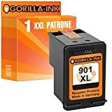 Gorilla-Ink® 1 Druckerpatrone XXL remanufactured für HP 901 XL Black OfficeJet 4500 Series 4500 Wireless J 4550 J 4580 J 4680 J 4680 C