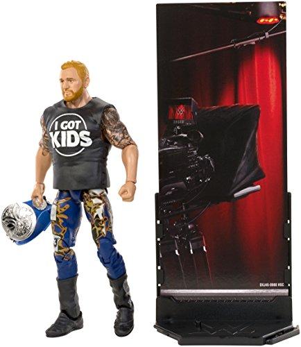 WWE Figur Deluxe (Mattel) grau (Heath ()
