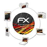 atFoliX Folie für Sanitas SBM 21 Displayschutzfolie - 2 x FX-Antireflex-HD hochauflösende entspiegelnde Schutzfolie