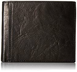 Fossil Black Mens Wallet (ML3781001)