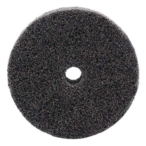 Nylon-Polierscheibe, Chshe❤❤, Schleifscheiben-Schleifpolierfaser 3 Zoll, Schleifpolierwerkzeug (Schwarz) (Beta-maschine)