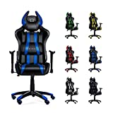 Diablo X-One Horn Gaming Stuhl Bürostuhl in Racing Optik