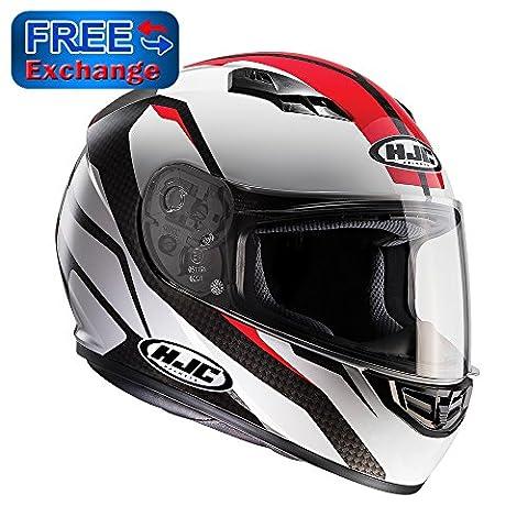 HJC CS-15 SEBKA Full Face Motorbike Motorcycle Helmet MC1 RED 2XL