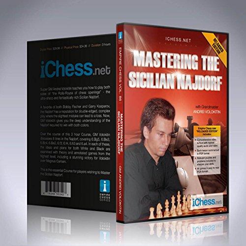 ichess. Net Mastering der Sizilianer najdorf–Empire Chess (Dvd Die Schach-spieler)
