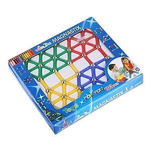 NUOLUX 103pcs establecer bloques magnéticos palillos magnéticos juguetes educativos para niños de NUOLUX