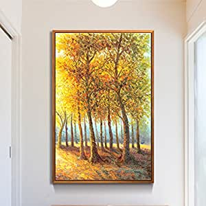 Paintsh paesaggio soggiorno portico moderna pittura for Pittura moderna soggiorno