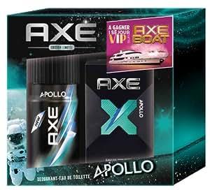 Axe Coffret Apollo 2 Produits : eau de toilette et déodorant