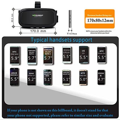ELEGIANT – Universal Smartphone VR Brille - 4