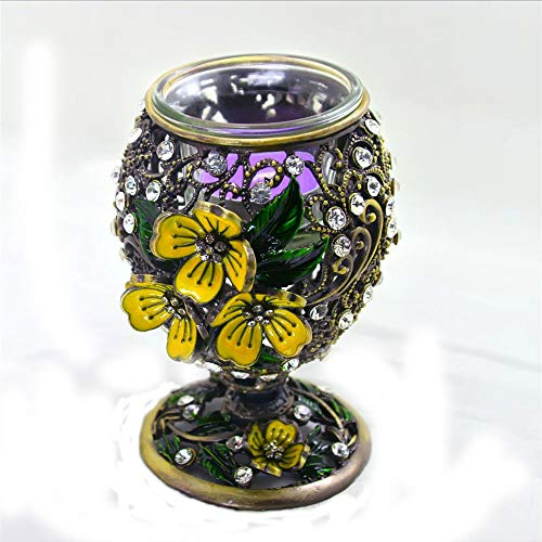 Z3Z Moderner Kerzenständer Aus Metall Barockstil Zinklegierung Geeignet Für Zu Hause,C