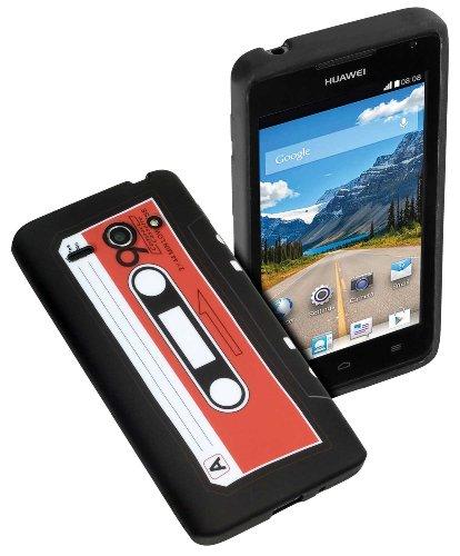 yayago - Print Tape Look - Silikonhülle mit Druckmotiv 'Tape' - Schutzhülle Hülle Case Tasche für Huawei Ascend Y530