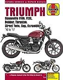 Triumph Bonneville, T100, T120, Bobber, Thruxton, Street Twin, Cup, Scrambler Service & Repair Manual (2016 to 2017)...