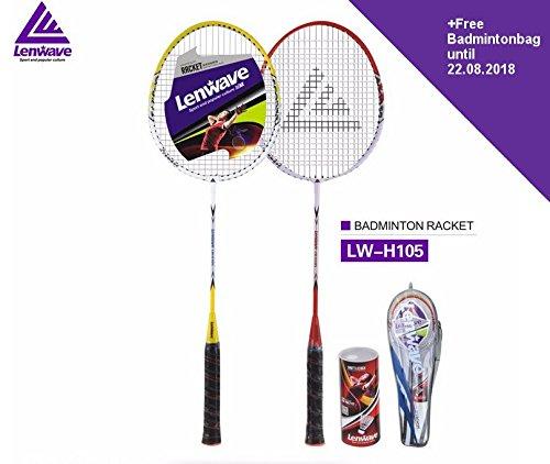 Lenwave Badminton Outdoor Badmintonschläger Set Hochwertig mit Tasche LW-H105