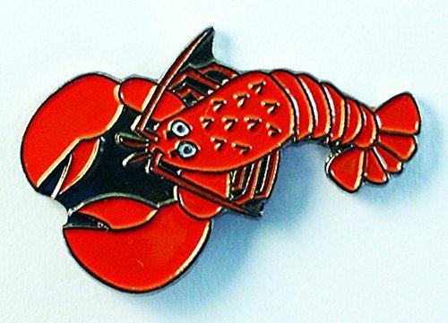 metal-enamel-pin-badge-brooch-red-lobster-nemo-jaques-larry-sebastian