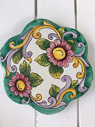 Centro Ardolino Sottopentola in Ceramica di vietri Dipinto a Mano