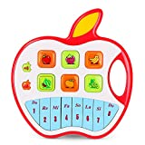 NextX Toddlers Musical Keyboard Piano Educational Toys for STEM,Gift Idea for Boys Girls