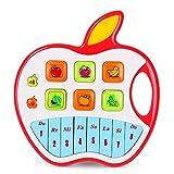 NextX Tastiera Pianoforte per Bimbi Piccoli - Strumento Musicale con 3 Modalità di Gioco - Giocattolo Educativo Prima Infanzia - Regalo Perfetto per Bambini 6+ Mesi