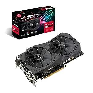 ASUS ROG Strix Radeon RX570 OC Edition 8GB GDDR5 256-bit IP5X Dust Resistant 5K Gaming Graphics Card