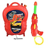 Zest 4 Toyz Holi Water Gun with High Pressure Holi Pichkari with Back Holding Tank, Holi 6.5 Litre -Hot Wheels Classic
