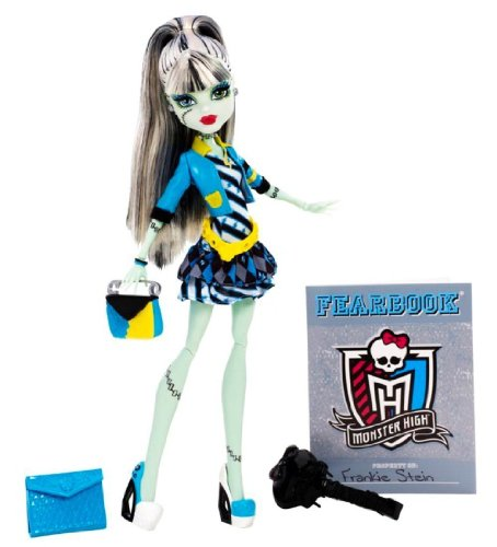 Mattel Monster High BBJ74 -  Frankie, Puppe (Monster High Kostüme Catty Noir)