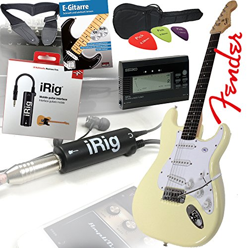 fender-squier-bullet-strat-guitare-electrique-dans-arctic-white-blanc-set-irig-interface-pour-guitar