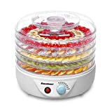 Excelvan 5 Tier Electric Food Fruit Dehydrator, Food Preserver with Adjustable Temperature Control