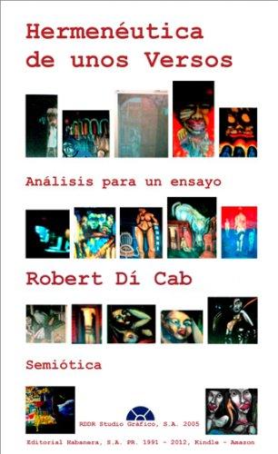 Hemenéutica de unos versos por Roberto Díaz-Cabrera