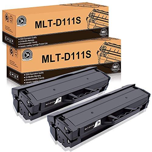 FITU WORK MLT-D111S Compatibili per Samsung MLT D111S Cartuccia Toner Samsung Xpress M2026W M2026 M2070FW M2070W M2070 M2020 M2020W M2022 M2022W (2xNero)